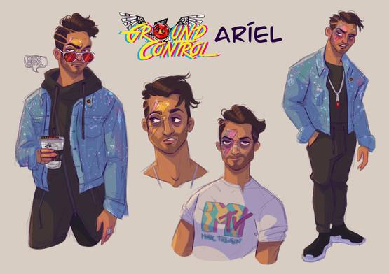 Aríel in color