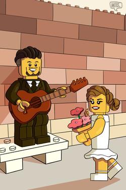 Jolien & Arne love Lego