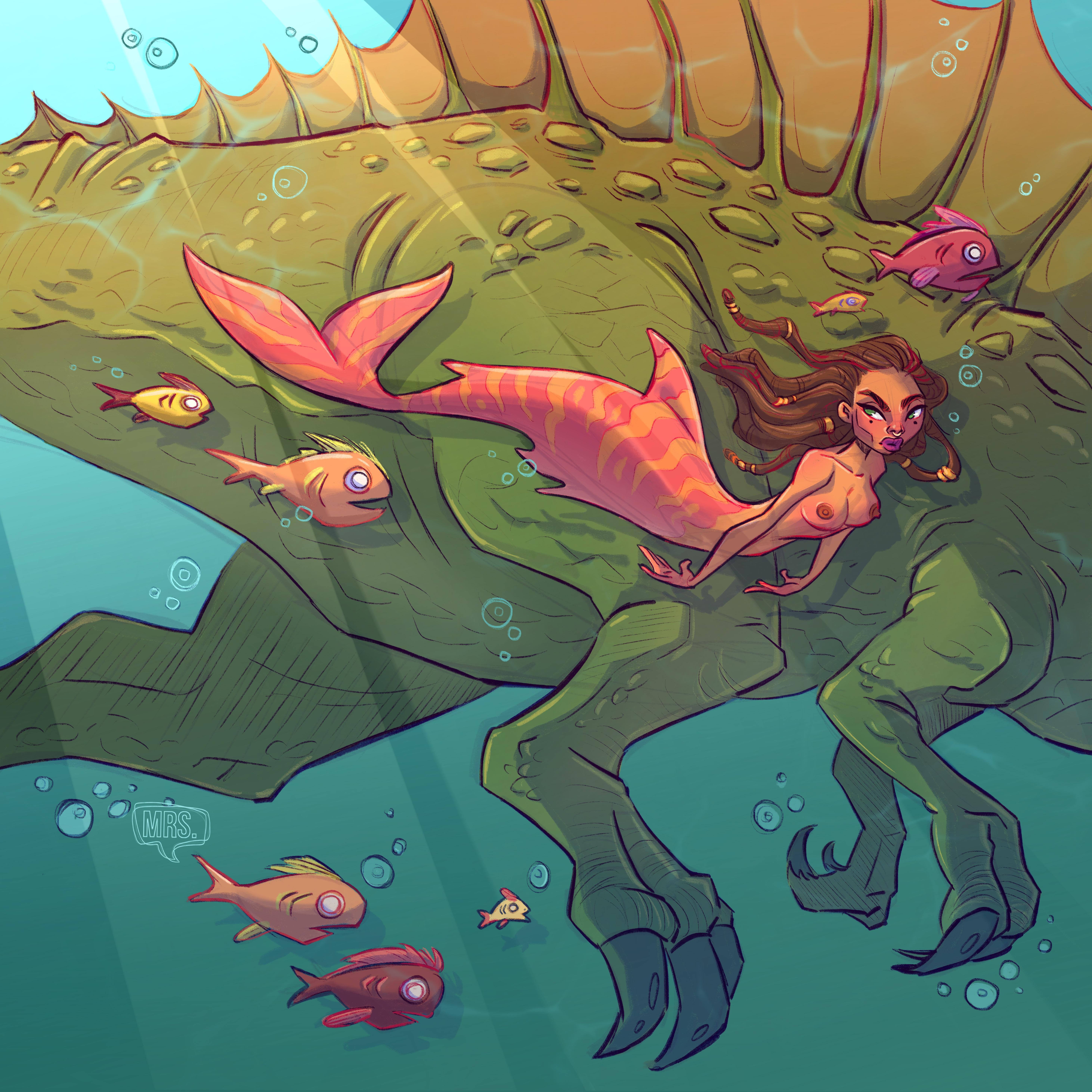 Mermay Dinosaur