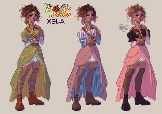 Xela color line up