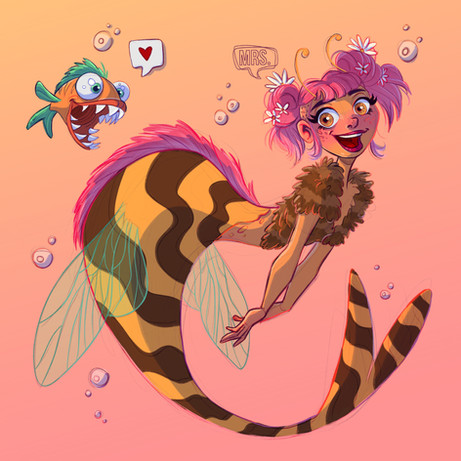 MerMay 2019 - Honey Bee