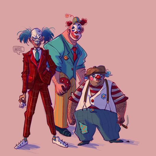 Day 3 Clowns