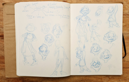Character exploration
