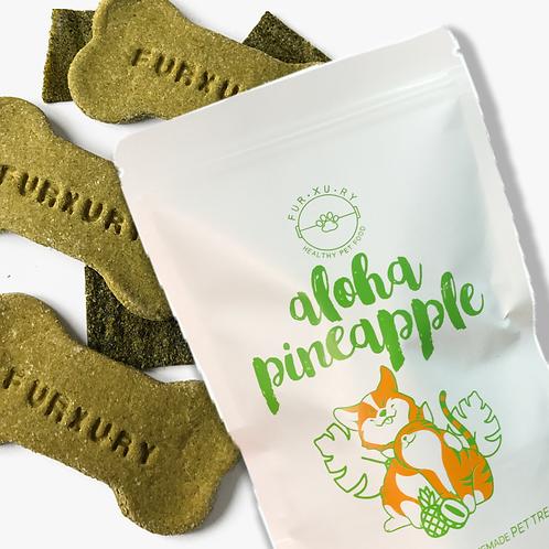 Aloha Pineapple Cookies | Pet Treats