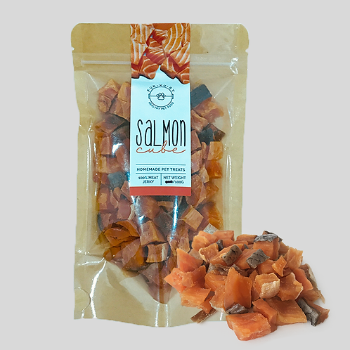 Salmon Cubes Jerky | Pet Treats