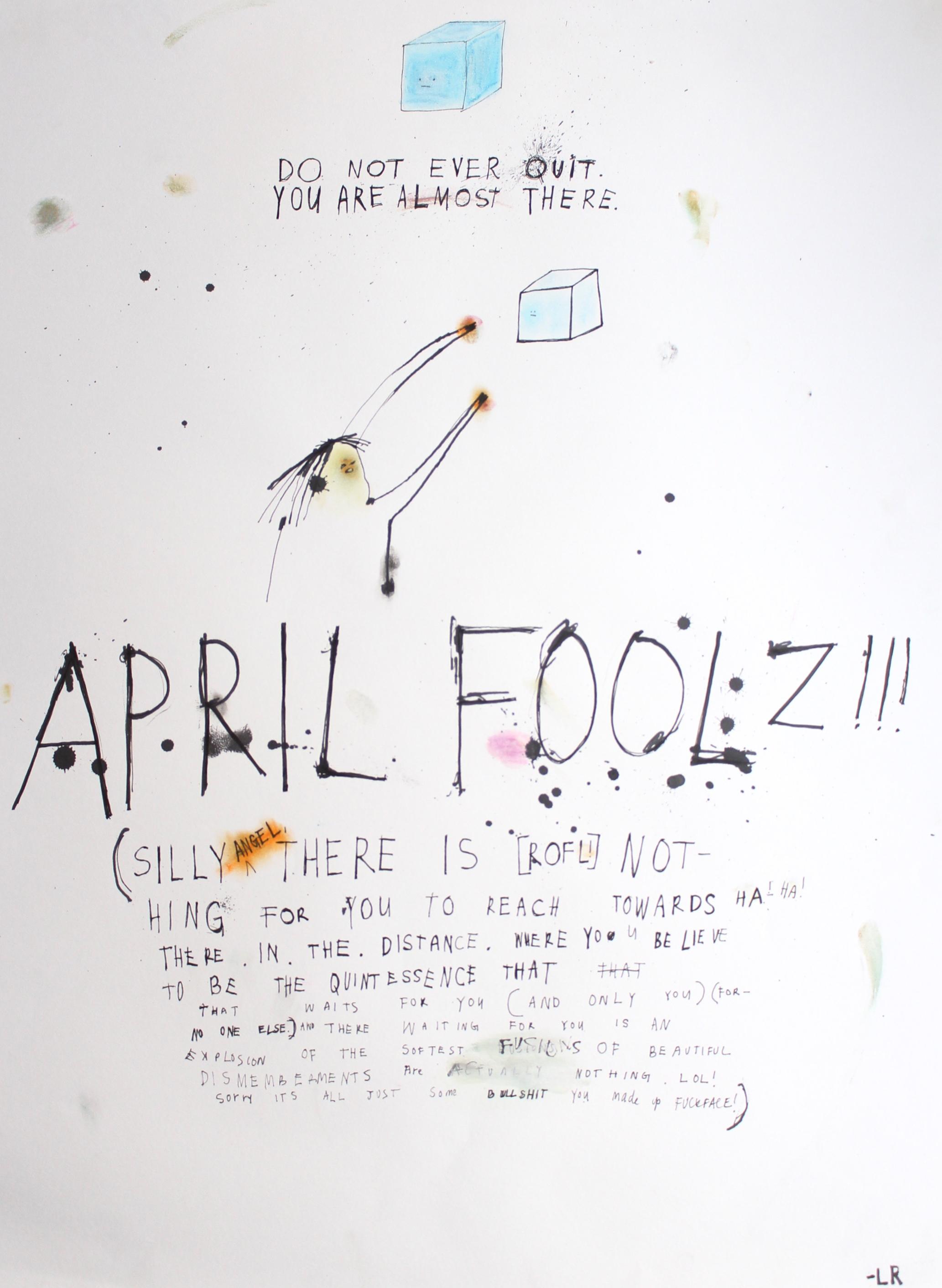 Do Not Quit (April Fools)
