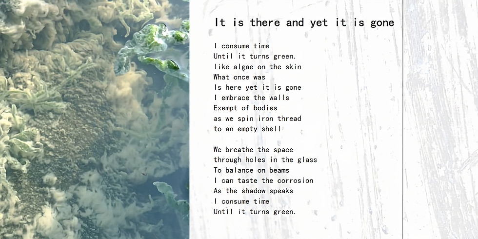 DOOResidency presents: 'It is there and yet it is gone'