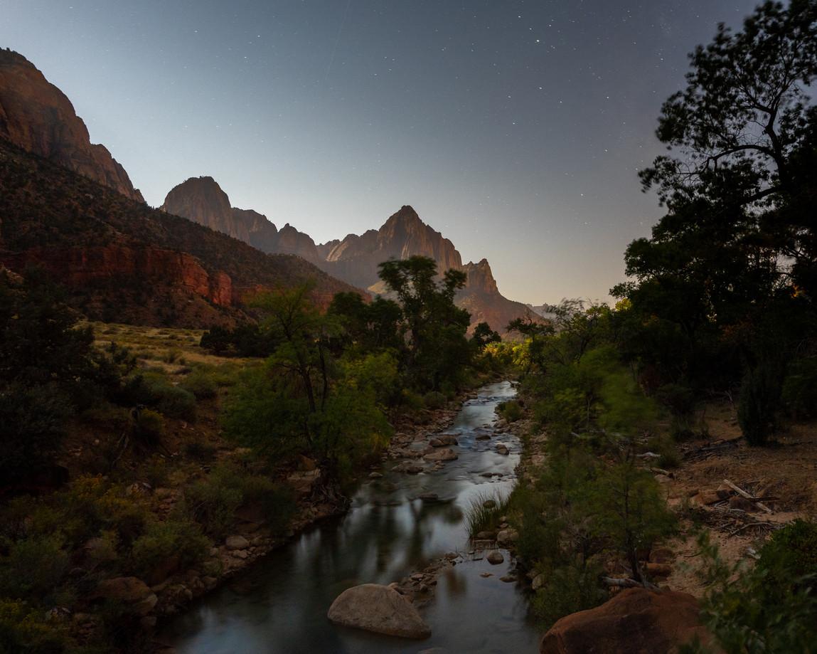 Zion National Park Nightscape