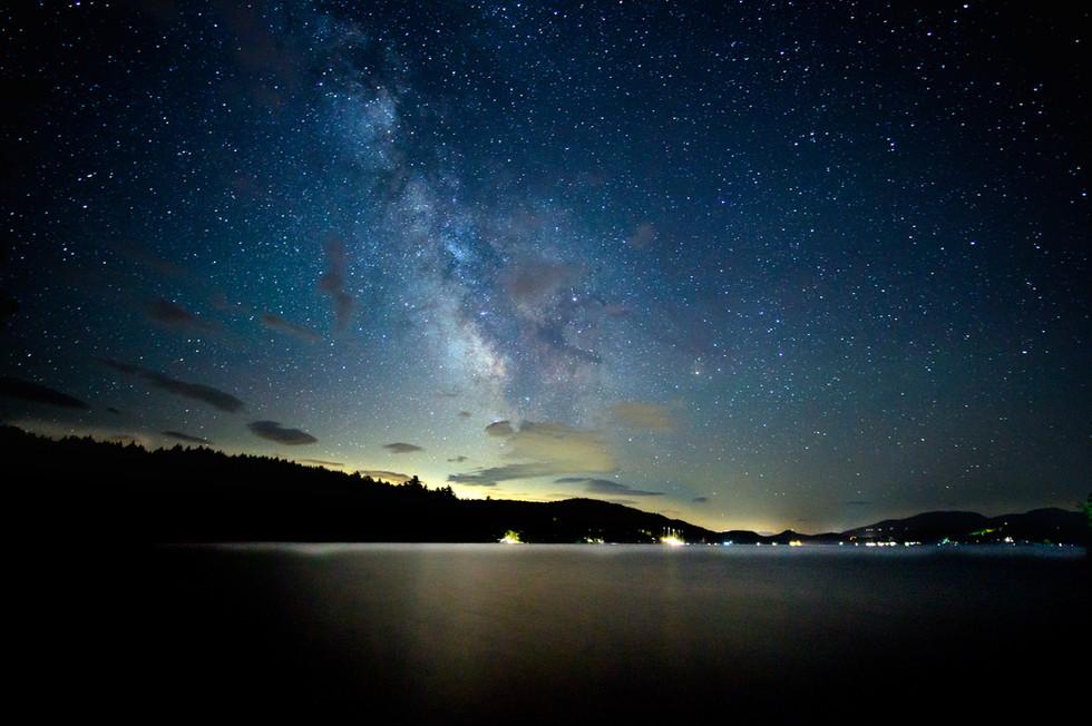 Lake Schroon Milky Way