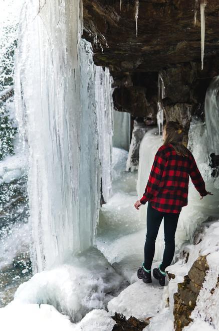 Glen Onoko Frozen Waterfalls