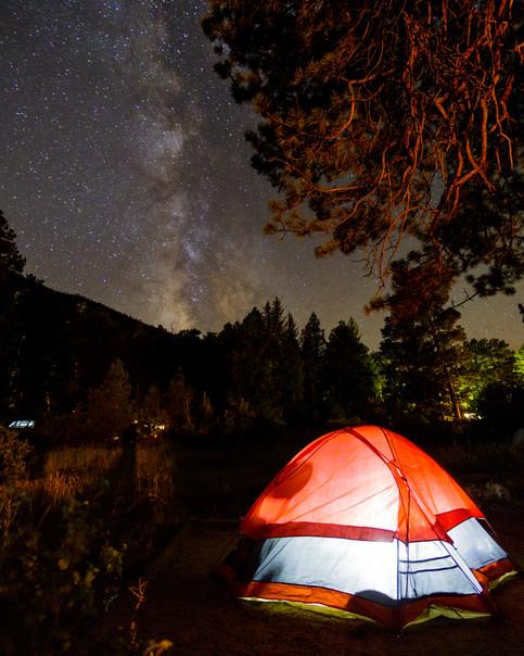 Milky Way Rocky Mountain National Park