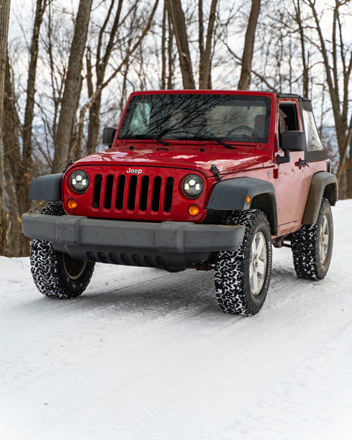 Winter Jeep Adventure