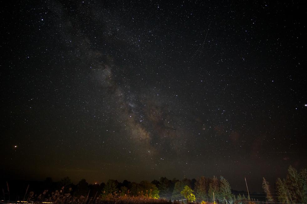 Milky Way Cherry Springs State Park