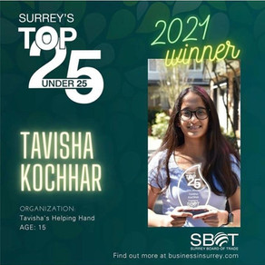 Surrey's Top Under 25 Award