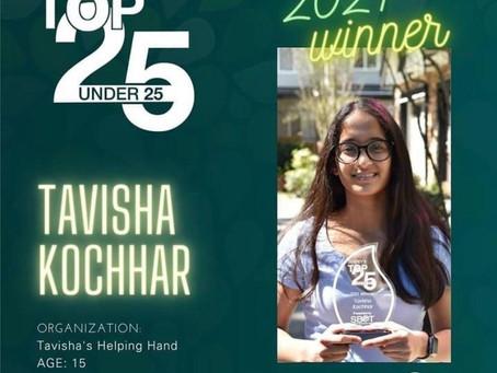 Surreys Top Under 25 Award
