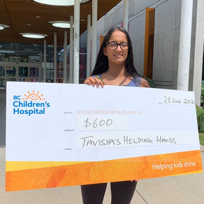 Donation made to BC Children's Hospital Foundation
