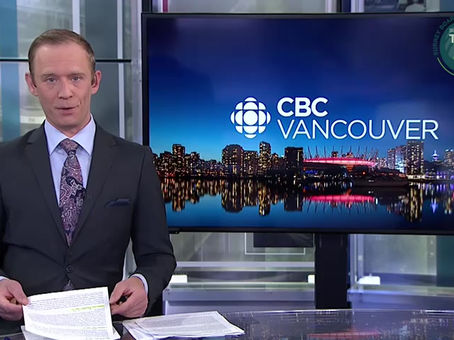 News cover on CBC