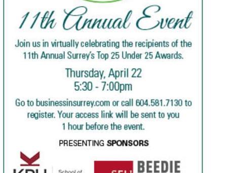 Surrey Board of Trade 11th Annual Event Invite
