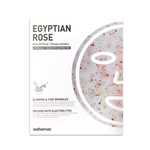 Esthemax Egyptian Rose Hydrojelly Peel Off Mask Kit