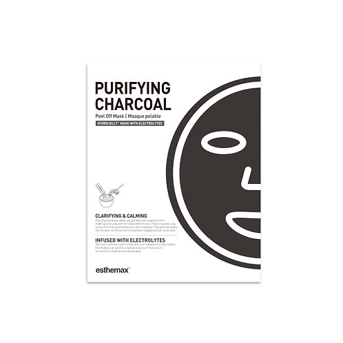 Esthemax Purifying Charcoal Hydrojelly Peel Off Mask Kit