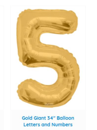 """Helium 34"""" balloon"""
