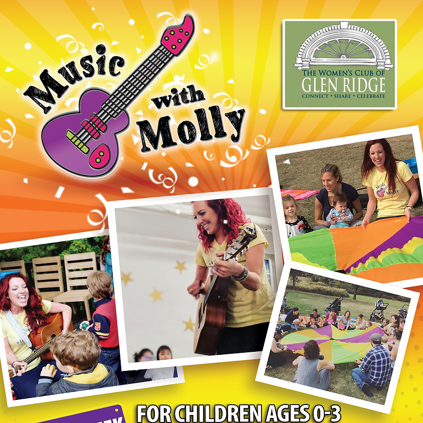 Music With Molly- 2nd Session 11:30 am - 12:15 pm