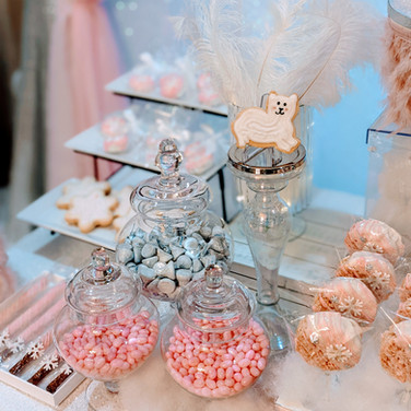 WinterONEderland Dessert Table