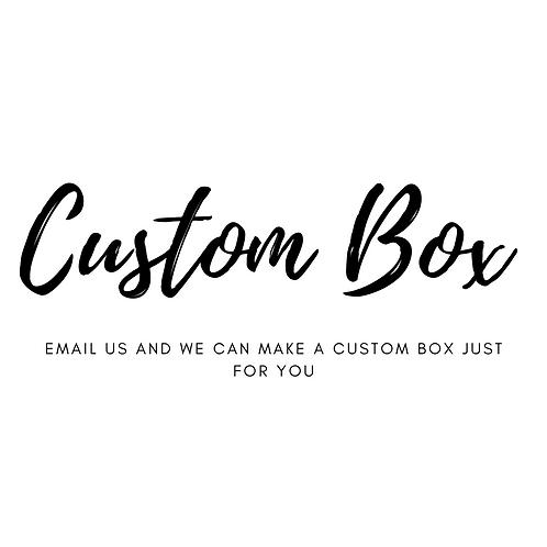 Custom Theme Party Box
