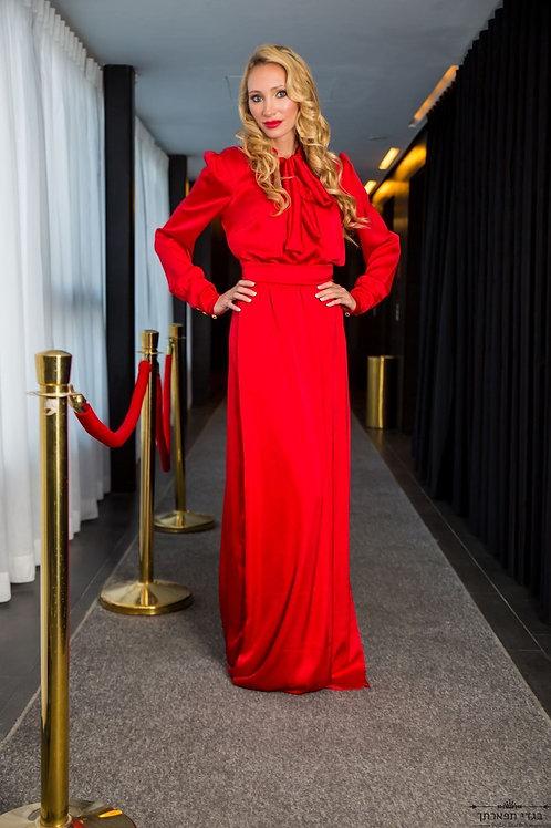 שמלת קשירה נפוליאון אדומה