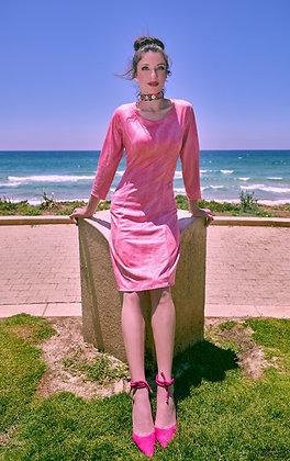שמלת האפרסק נחש קצרה