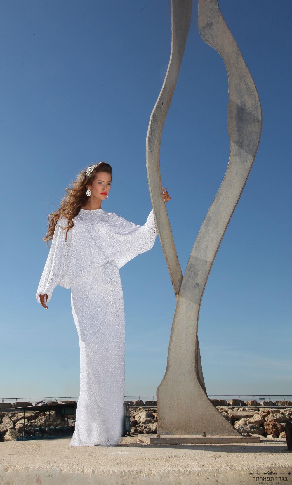 שמלת מיסוני לבנה