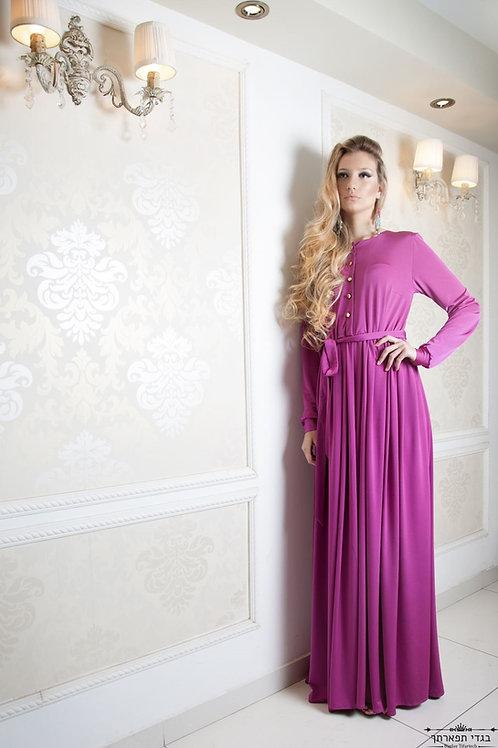 שמלת קריסטל לייקרה פוקסיה