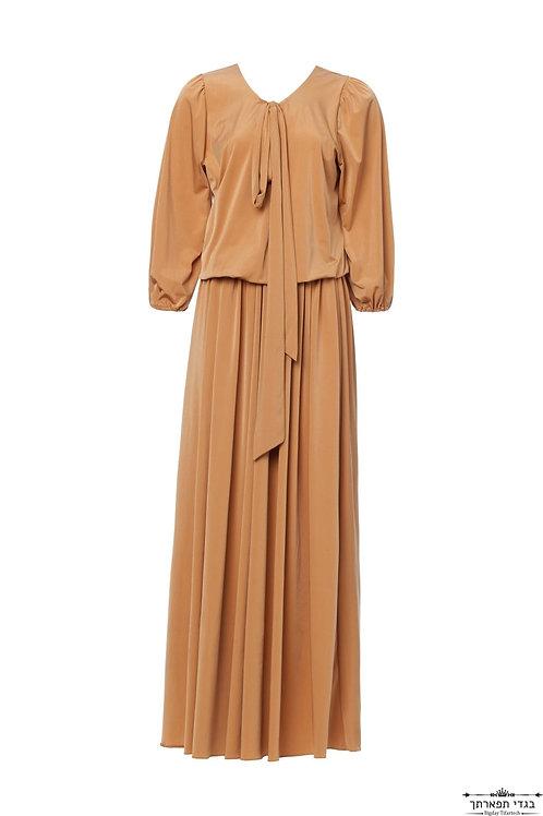 שמלת קשירה חמרה