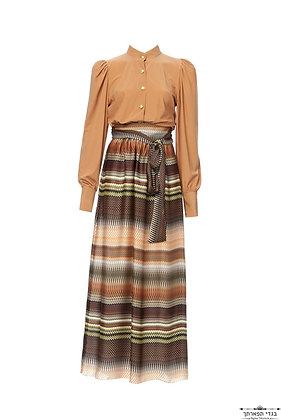 חצאית חומה מיסוני