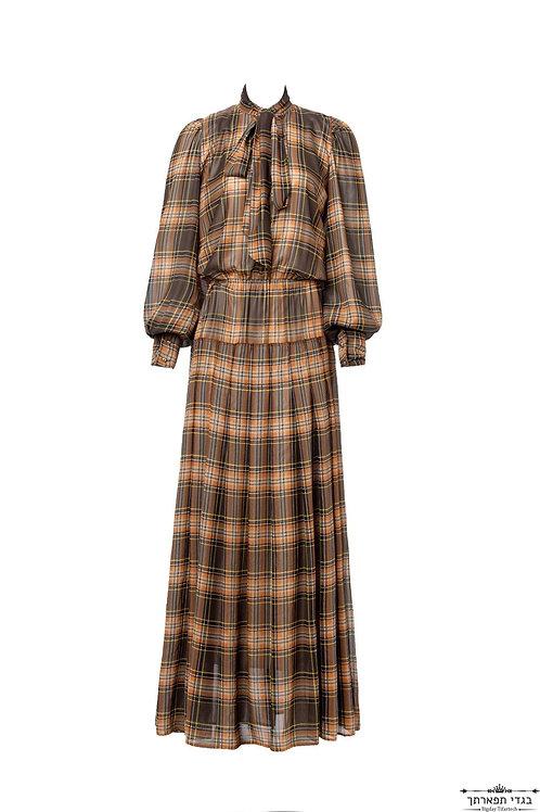 שמלת נפוליאון משבצות