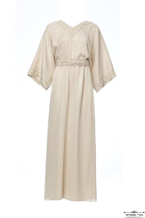 שמלת קימונו תחרה