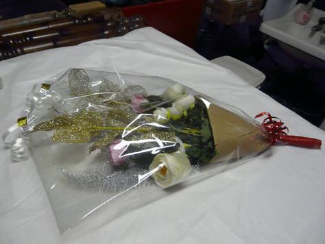Un bouquet pour Vania !