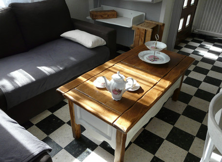Coffre Table Basse