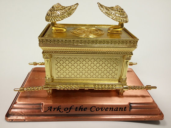 Gold Large Ark Of The Covenant With Cover Model
