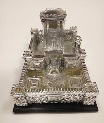 Large Silver Temple Model