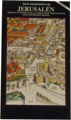 MAPA PANORAMICO DE JERUSALEN