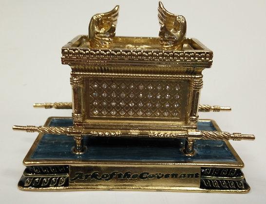 Large Blue Ark of The Covenant Enamel Model