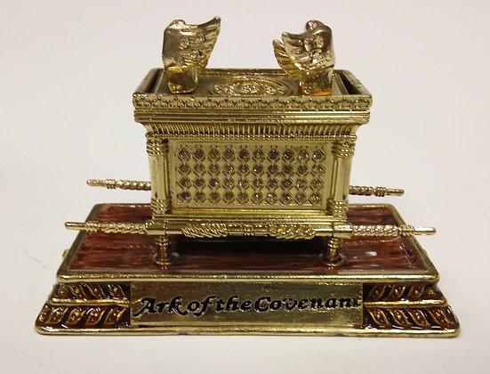 Large Red Ark of The Covenant Enamel Model