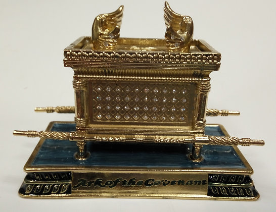 Medium Blue Ark of Covenant Enamel Model