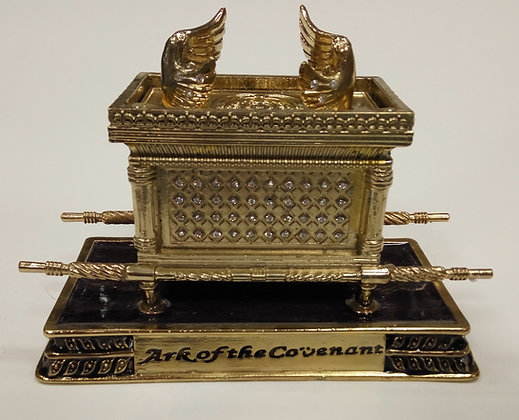 Large Purple Ark of The Covenant Enamel Model