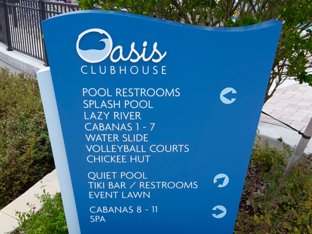 The Oasis Clubhouse - Directory