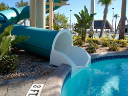 The Oasis Clubhouse - Water Slide