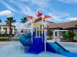 The Oasis Clubhouse - Play Structure