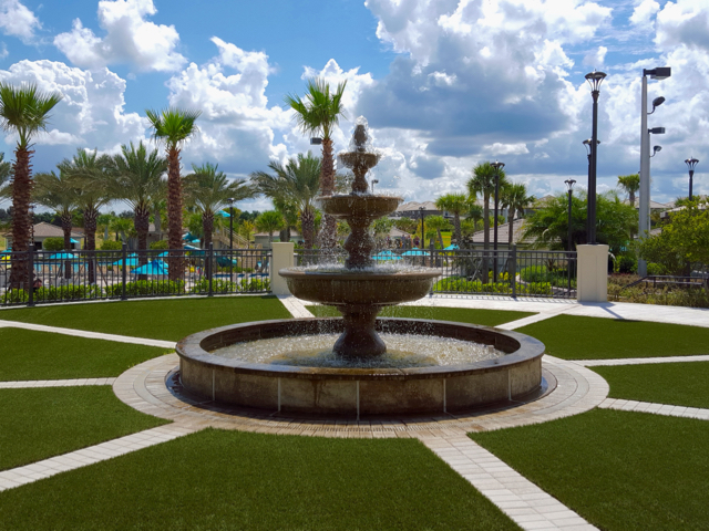 The Oasis Clubhouse - Fountain