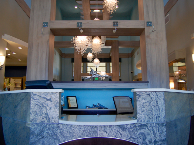 The Oasis Clubhouse - Welcome Desk